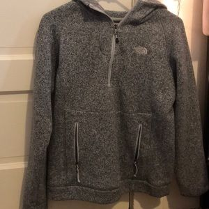North face quarter zip